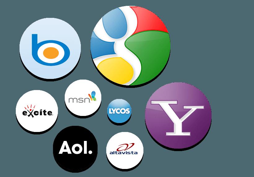 Общая статистика поисковых систем