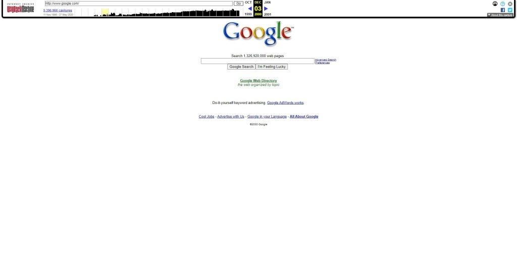 веб архив google